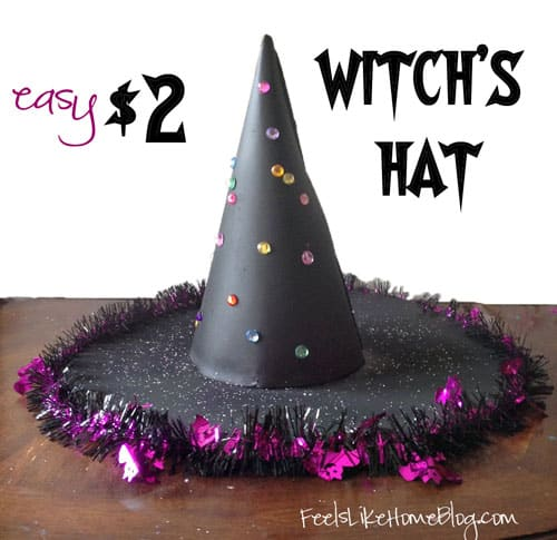 How To Make An Easy 2 Witchs Hat Feels Like Home