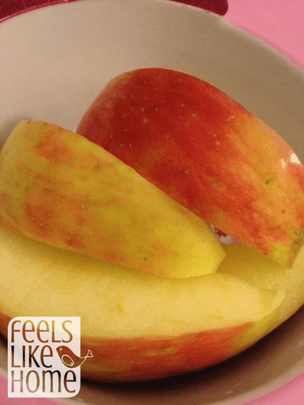 Apple wedges