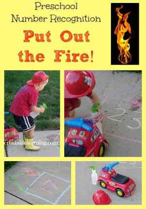 Put the fire out game for little kids