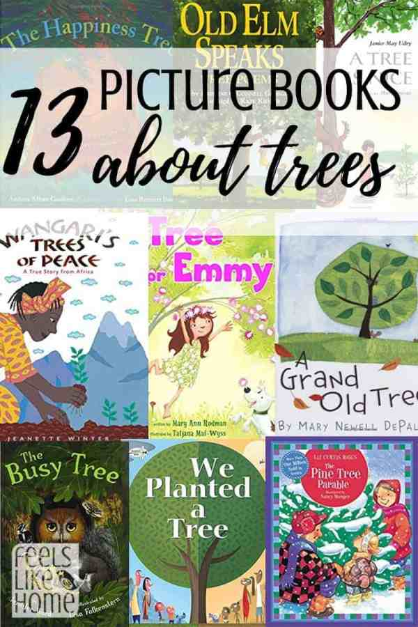 Best picture books about trees - These fun an interesting books are perfect for preschool or kindergarten units on trees. Children will love them!