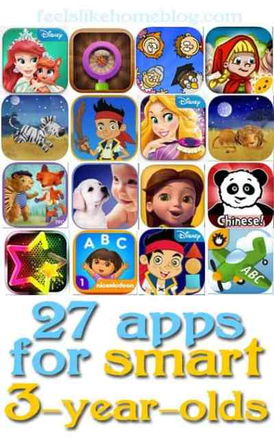 iphone and ipad apps for smart 3-year-olds