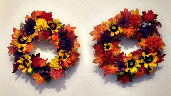 Autumn Wreath Craft for Kids