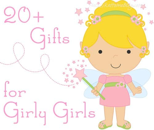 Christmas Gift Ideas for Girly Girls - 101 awesome & unique Christmas gift ideas for girly girls who are 3, 4, 5, or 6 years old (preschoolers) - These fun ideas are sure to please the little girls in your life! With lots of ideas, there is something on this list for every girl for the holidays or even for birthdays!