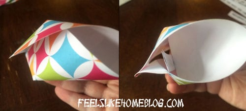Paper Fortune Cookies Tutorial