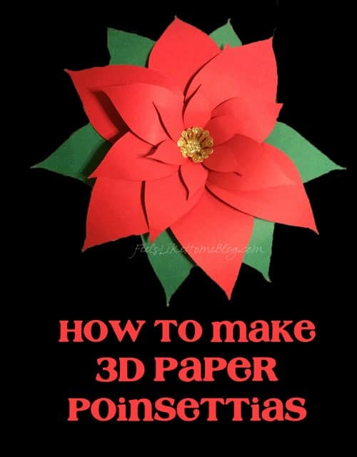 how to put a 3d cut out on a card