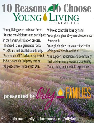 Reasons to Choose Young Living Essential Oils