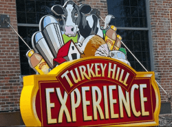 Turkey Hill Experience sign