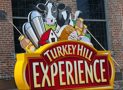 Turkey Hill Experience in Columbia, Lancaster County, PA - This fun field trip is near Harrisburg in Central Pennsylvania. Awesome for families with kids. Make your own ice cream and learn about ice cream and iced tea as well as other Turkey Hill products.