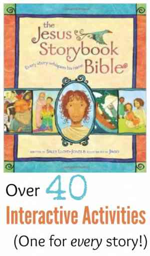 Jesus Storybook Bible activities