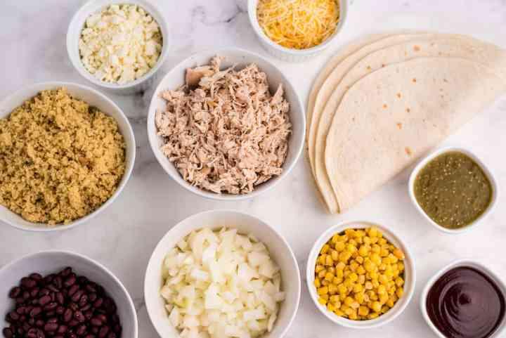 chicken burrito ingredients