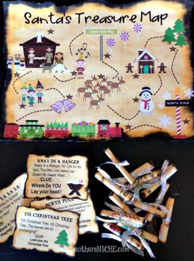 Santas-Treasure-Map