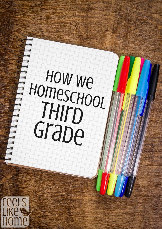 How To Homeschool Third Grade