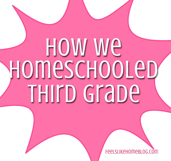 Want to peek inside one family's third grade homeschool? Here's an insider look at how they are teaching and learning every subject!