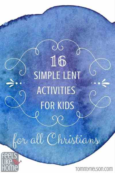 These simple faith based Lent activities and craft ideas will give families just the hints they need to honor Jesus during the Lenten season this year. Perfect for Catholic kids but really any Christians.