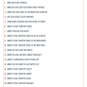 20 Questions to Ask Your Kids Printable (With My Kids' Answers)