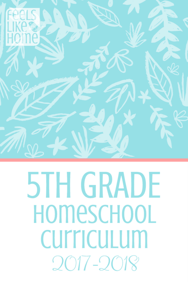 How to homeschool 5th grade without a formal curriculum and work - This mom teaches her children at home and works full time. Here are her curriculum choices for her fifth grader complete with links to all the resources. Complete with every subject including math, reading, writing, handwriting, and much more.