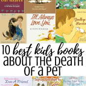 10 Best Books for Kids About the Death of a Pet