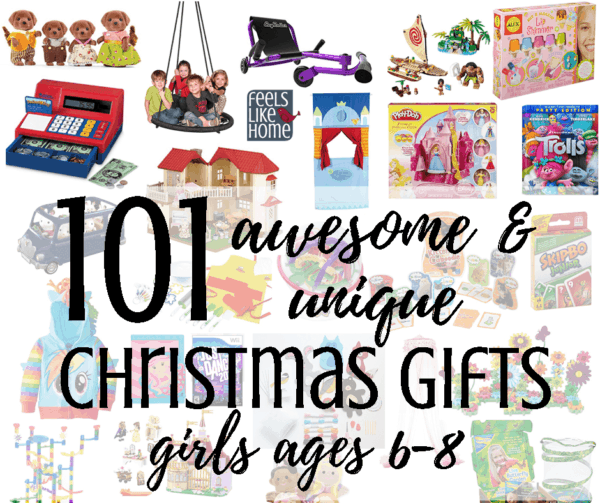 Top 101 Best Gifts For Your Boyfriend The 2017 List: 101 Best Unique Christmas Gift Ideas For Girls Ages 6-8