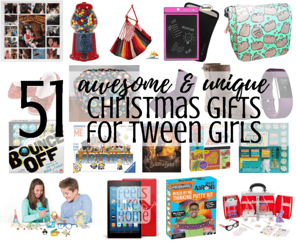 Unique Gift Ideas For Christmas: 58 Awesome & Unique Christmas Gift Ideas For Tween Girls