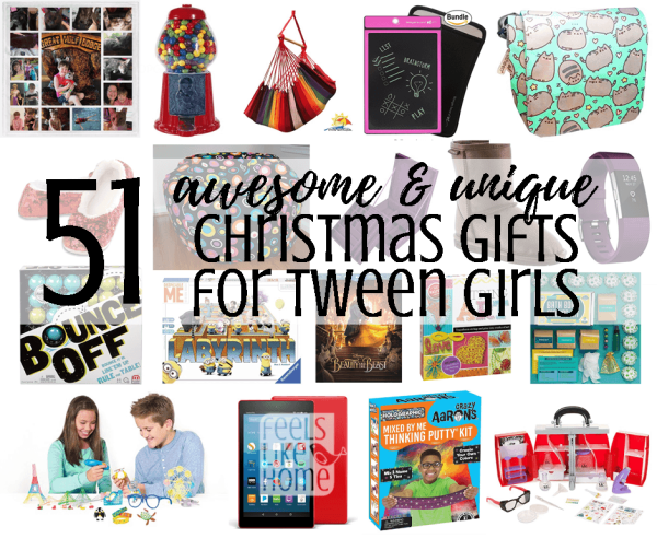 58 Awesome & Unique Christmas Gift Ideas for Tween Girls - Feels ...