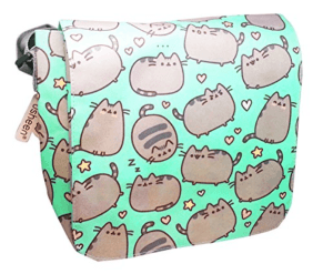 A Pusheen messenger bag