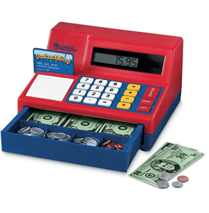 Cash register for kids