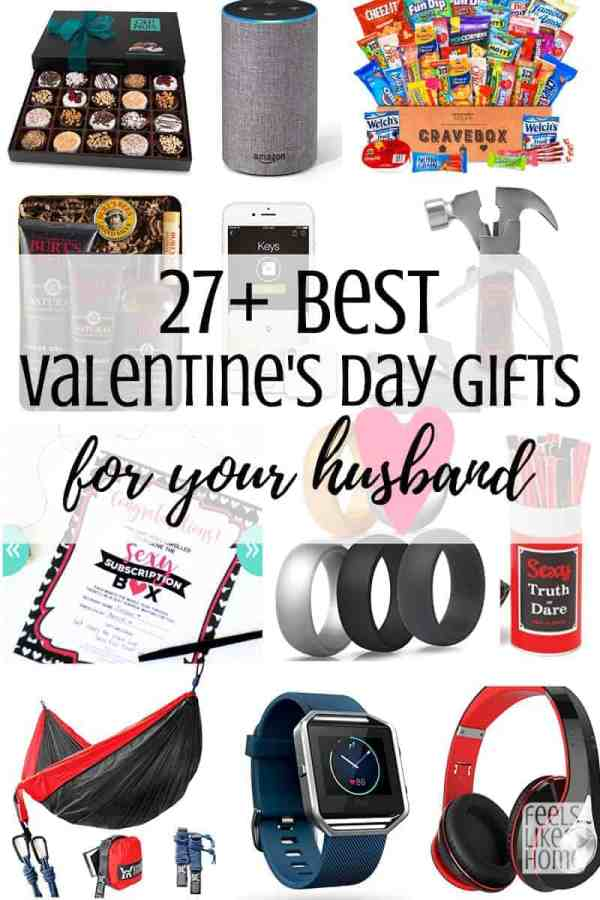 these simple and easy valentines day gifts for him are perfect for a boyfriend or husband