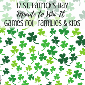 17 St. Patrick's Day Minute to Win It Games for Kids and Families