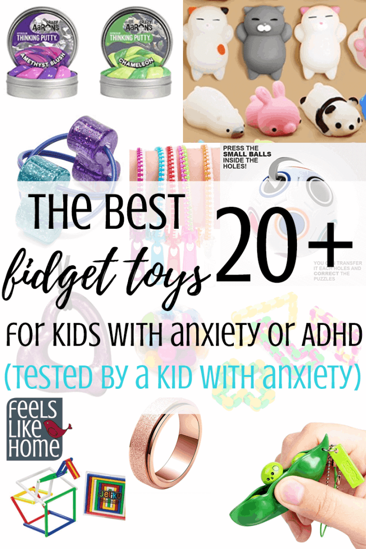 The Best Fidget Toys - A Simple and Easy Solution for Kids with Anxiety or ADHD
