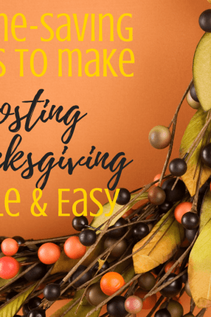 23 Time-saving hacks to make hosting thanksgiving easy - Whether you're entertaining for the first time or tenth, you will find lots of good advice and practical tips in this article including ideas for dinner menu items, shopping list, and make ahead preparation. Tips and a checklist for a simple family celebration with kids. Great for a crowd of friends including products you need, recipes to make, and a special method for roasting the turkey.
