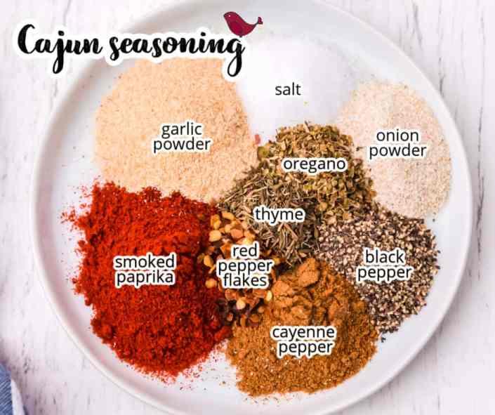 cajun seasoning ingredients