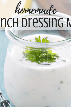 The best homemade buttermilk ranch dressing spice mix - This simply and easy recipe makes an awesome, healthy, creamy dip or dressing that's just like Hidden Valley. The dry mix can be made with buttermilk powder or with liquid buttermilk. Make the dressing with Greek yogurt or sour cream, mayonnaise, and milk.