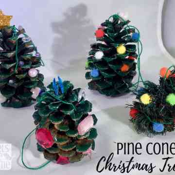 easy pine cone craft