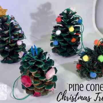 easy pine cone craft