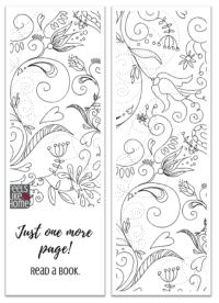 Free printable black and white bookmarks for adults and kids to color - These cute drawings include motivational and inspirational quotes. Girls and women will love these floral and sketched DIY bookmarks.