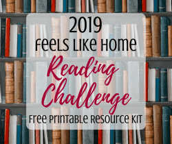 Free 2019 reading challenge for adults - Great list of book ideas and tips for reading more. Includes free printable chart and bookmarks. Perfect for a month or for 52 weeks of the year.