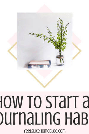 How to start a journaling habit - Whether you need ideas and inspiration for journaling for anxiety, depression, or just because, here are thoughts on improving your mental health by writing in a journal daily. This awesome creative guided journal is great for older children and students.
