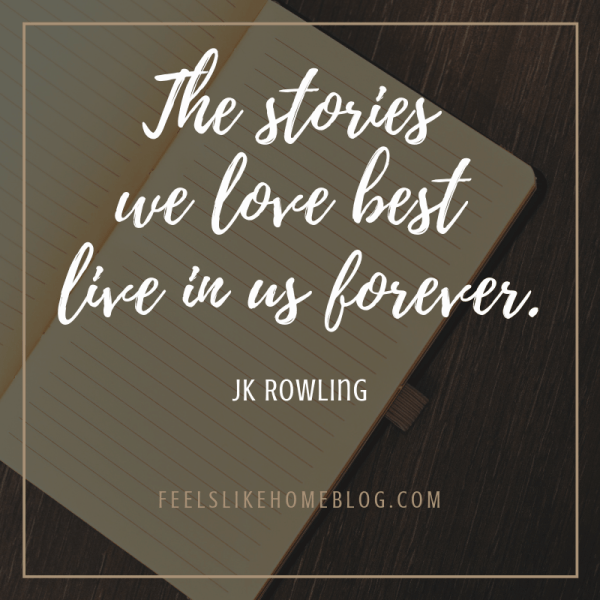 The stories we love best live in us forever. -JK Rowling in Harry Potter. Awesome quotes from Dumbledore, Snape, Harry, Hermione, Sirius, and more. I love all these quotes to live by. The best printable quotes for a tattoo. Meaningful truths.