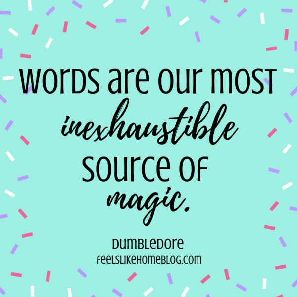 Words are our most inexhaustible source of magic. Awesome Harry Potter quotes from Dumbledore, Snape, Harry, Hermione, Sirius, and more. I love all these quotes to live by. The best printable quotes for a tattoo. Meaningful truths.
