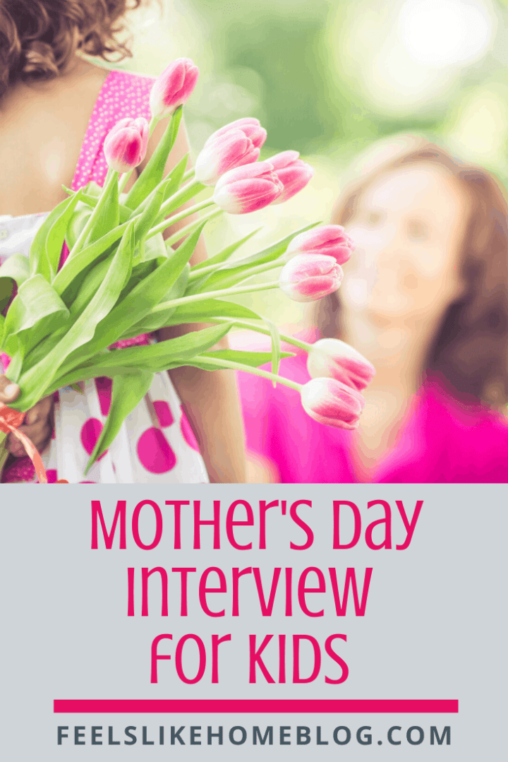 All About My Mom - Mother\'s Day Interview for Kids