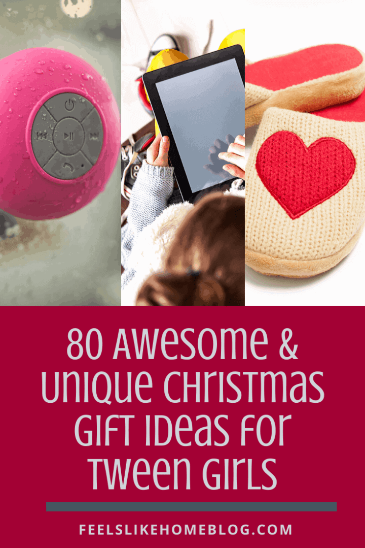 80 Awesome & Unique Christmas Gift Ideas for Tween Girls
