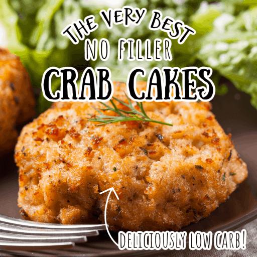 low carb crab cake with no filler