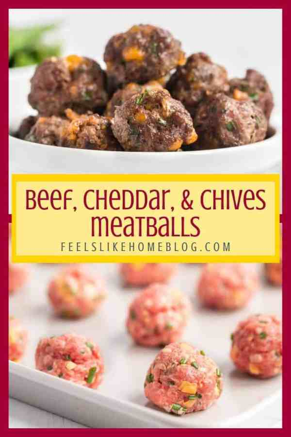 A bunch of Beef Meatballs, raw and cooked