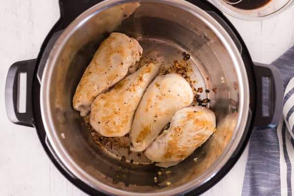 Chicken in the Instant Pot