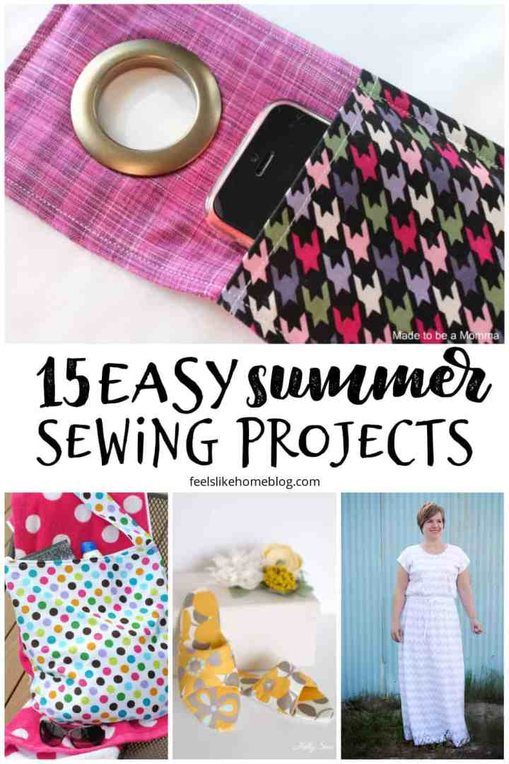 15 Easy Summer Sewing Projects to Fill Your Days