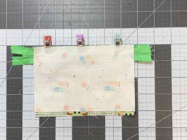 add main pouch lining piece