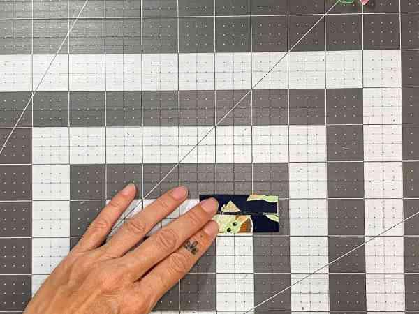 fold ring tab piece in half