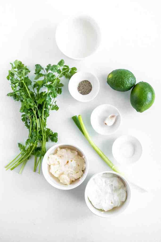 cilantro lime ranch ingredients