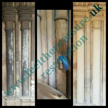 Before and after specialised cleaning and restoration services based in loon and surrey