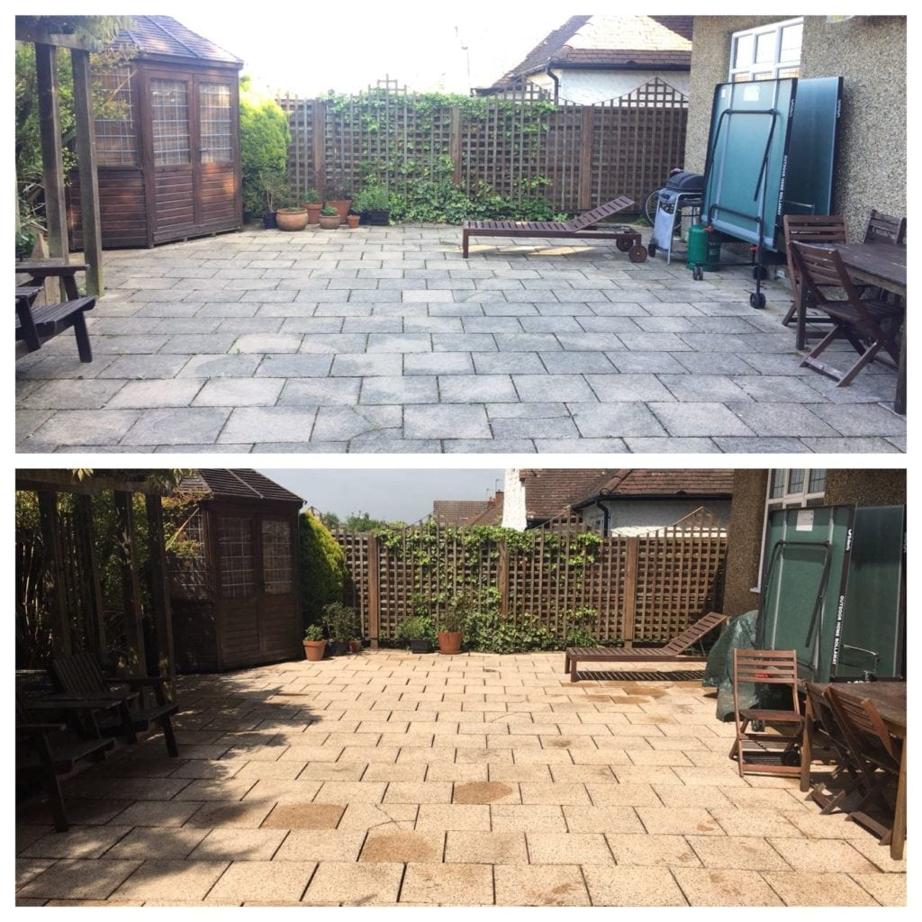 feel the pressure patio cleaning services Cobham, surrey
